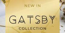 Colección Gatsby / Colección Gargantillas con líneas geometricas en plata, plata dorada y plata oro rosa. Perfecta para tus fiestas de verano nocturnas. Elegancia y sofisticación en una sola joya