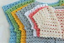 INSPIRACE háčkované-děti / háčkované  šatičky,svetříky,deky....