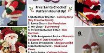 INSPIRACE na vánoční háčkovaní / háčkované ozdoby,postavičky a jiná dekorace