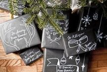 CHALK IT UP / I love chalkboard paint and the ways to use it is endless.