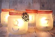 LIGHT UP MY LIFE / You can't beat candles for atmosphere especially during Autumn and the Christmas season.