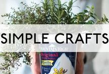 Simple Crafts / The Mountain High experience doesn't end when your yoghurt is gone. There are so many ways to spread simple goodness throughout your day.