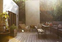 Terrasses & jardins // Gardens