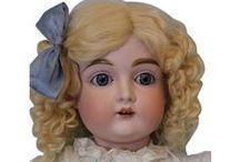 German Bisque Dolls / German bisque dolls and characters!