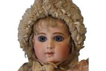 French Bisque Dolls / Amazing examples of antique French dolls from the turn of the 19th century!