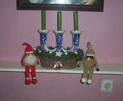 MOJE VÁNOČNÍ DEKORACE / háčkované ozdobičky, dekorací si dělám radost každé vánoce , ale i jiným,kteří si u mne objednávají, objednávky přijímám již v září každého roku