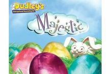 Specialty Dye Kits / Dudley's Specialty Dye Kits allow you to create colorful, unique designs on your Easter eggs. Try them all!