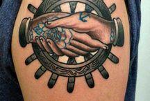 • Tattoo old School • / Passione.