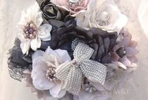 Brooch & Button Wedding Bouquets / For the Bride who wants to keep & treasure her Bouquet and even pass it on as a family heirloom....www.weddingandevents.co.uk