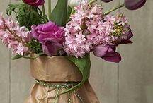 composizioni fiori, candele....