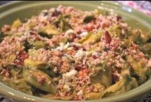Pasta Dishes from Gourmet Uncorked / Creative Italian Cooking inspired by our travels through Italy and Sicily