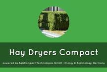 haydryers COMPACT magazines / Hay Dryer COMPACT with Biogas Hay Dryer COMPACT using hot water from #cogeneration process of #biogas plant – with #haydryers.com compliments  sechoir-foin.com - haydryers.com - essiccatoi-fieno.com - heuballentrocknung.com