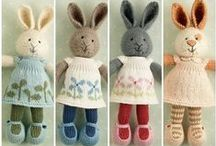 inspirace-velikonoce / háčkovaná a pletená velikonoční dekorace