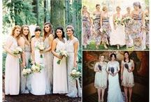 Bridesmaids / Bridesmaids dresses, ideas and more