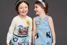 Dolce and Gabbana Summer & Winter 2015, children collection