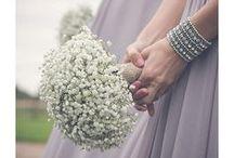 Gypsophila Weddings / Simple but stunning designs created from Gypsophila by us at www.weddingandevents.co.uk North Yorkshire Wedding Flowers