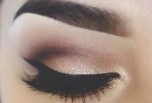 Eye Makeup Inspiration / Eye makeup ideas, keep it glam and classy!