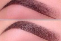 All About Eyebrows / It's so tricky to achieve a perfect eyebrow, these eyebrow tips and inspiration should help!