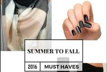 Radiant Style / All black everything: classy, edgy, polished fashion.