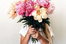 Flowers / Ideas with flowers for home, life and style