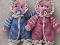 inspirace-panenky / háčkované postavičky