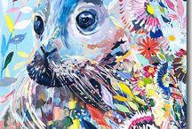 Starla Michelle Halfmann Animal Alphabets