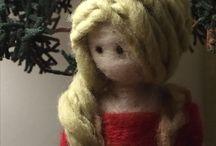 Muñecas de vellón / ArteJawi Taller de arte en lana dedicado a la confección de  Hermosas muñecas de vellón confeccionadas a mano y con materiales 100%naturales Diseños únicos  Artejawi@gmail.com