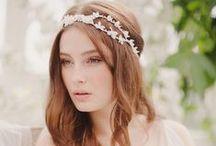 ACCESSOIRES / HEADPIECES / BOUDOIR /  Wedding Hairpieces, Headpieces, Haarschmuck, Hochzeitsschuhe, Shoes