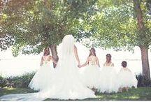 BRIDESMAIDS AND FLOWER GIRLS / Brautjungfern, Blumenkinder