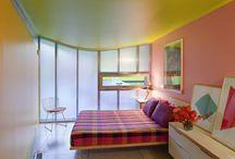: ~ V I B R A N T ~ : / Colourful home decor. Pics involving colour.. / by Alice Foley