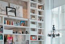 : ~ S H E L F S T Y L E ~ : / Stylishly decorated and conveniently mad intelligently planned shelves and storage areas really do make my heart sing! :) Includes shelves, cupboards, drawers, built-ins, anything to store and display items. / by Alice Foley