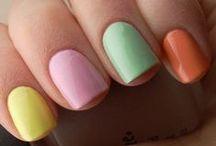 Pastel Manicure & Pedicure