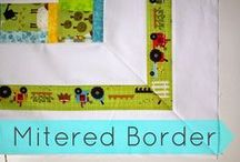 Quilting-Borders and Bindings