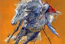ART MOVEMENT OF THE HORSES / I want to say the horse's movement in a painting.