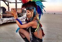 Burning Man Inspo / Outfit, travel, camping and transport planning for Burning Man 2016