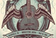 Country Music Concert Posters