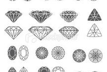 Diamond & Polygon Logos / Diamond & Polygon Logo Designs