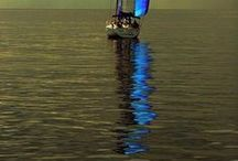 SAILBOAT'S REFLECTION