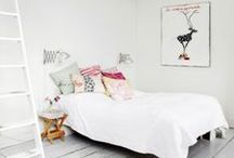 Home & Interiors Inspiration / Inspiring interiors, furniture and decorating ideas. Lots of white bright spaces! Clean, minimal design with pops of colour and other gorgeous interior decor styles with lots of character for the home.