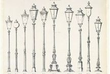 Historical Inspiration / An archive of drawings and photographs of interesting and significant historical light fixtures