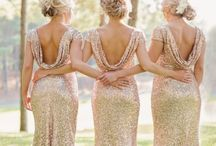 Sparkle & Shine | Glitter Sequins Wedding / When in doubt, just add glitter.