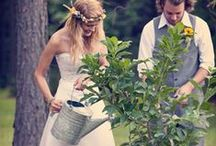 Growing Together | Farm Gardening Wedding Theme / Don't go through life, grow through life.