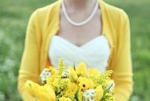 Mellow Yellow | Yellow Wedding / Turn your face to the sun and let the shadows fall behind you.