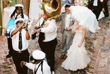 2nd Line | New Orleans | Louisiana Wedding Theme / There are a lot of places I like, but I like New Orleans better.