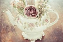 Tea for Two | Tea Party Theme Wedding or Party / The honor of your presence is requested at the mad tea party.