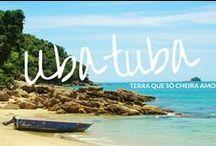 Ubatuba! <3 / Com 100 km de costa, Ubatuba tem 102 praias e 20 ilhas incríveis, além de boas condições para mergulho, trilhas, pesca, surf, vela, birdwatching e muita, muita tranquilidade em meio à Mata Atlântica. A gente ama essa cidade!