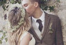 Neutral Nuptials | A Brown, Taupe, Cream, Tweed Wedding / Neutral colors are anything but boring.
