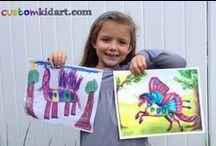 Custom Kid Art / Professional illustrations made from kid's drawings