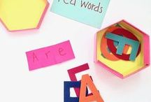 Spelling Tips / Simple resources and tips to help your child improve spelling and sight word memorization.
