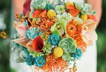 Great Wedding Colors / Unusual and vibrant wedding color schemes. Beautiful and surprising color combinations.